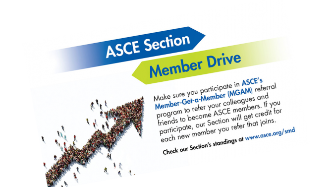 ASCE Section Member drive slide 1