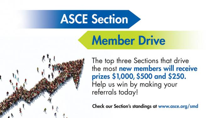 ASCE Section Member drive slide 2