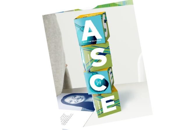 ASCE Student brochure - foldable cube
