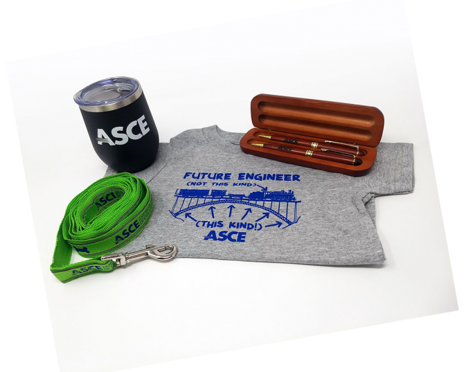 ASCE Giftstore merchandise